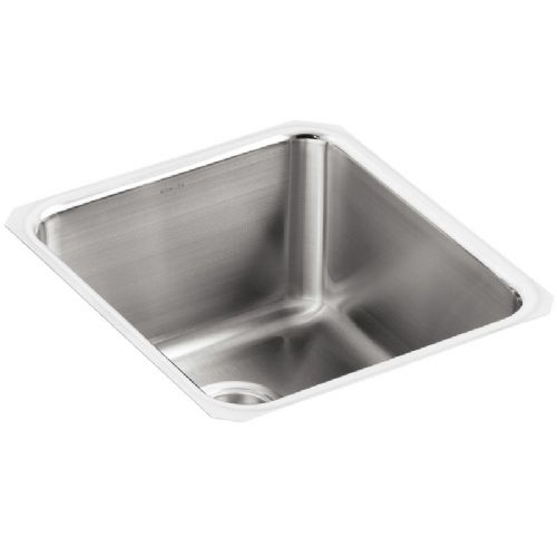 Kohler Icerock Stainless Steel Under-Mount Kitchen Bowl - 3330-NA
